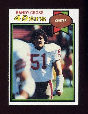1979 Topps Football #513 Randy Cross - San Francisco 49ers ExMt