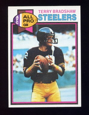 1979 Topps Football #500 Terry Bradshaw - Pittsburgh Steelers NM-M