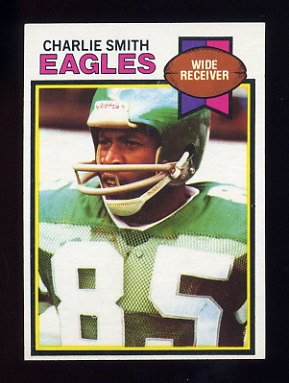 1979 Topps Football #471 Charlie Smith - Philadelphia Eagles