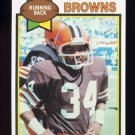 1979 Topps Football #455 Greg Pruitt - Cleveland Browns