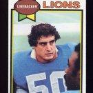 1979 Topps Football #447 Paul Naumoff - Detroit Lions