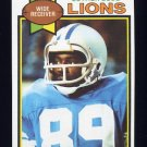 1979 Topps Football #427 Luther Blue - Detroit Lions