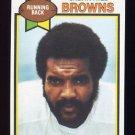 1979 Topps Football #399 Calvin Hill - Cleveland Browns