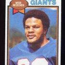 1979 Topps Football #372 Emery Moorehead - New York Giants