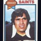 1979 Topps Football #314 Jim Merlo - New Orleans Saints