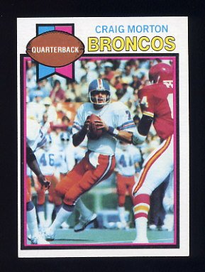 1979 Topps Football #285 Craig Morton - Denver Broncos