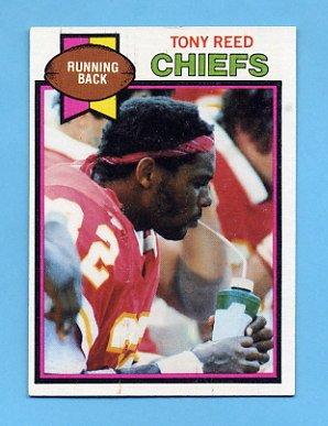 1979 Topps Football #278 Tony Reed - Kansas City Chiefs ExMt