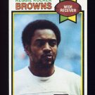 1979 Topps Football #268 Reggie Rucker - Cleveland Browns