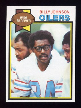 1979 Topps Football #246 Billy Johnson - Houston Oilers