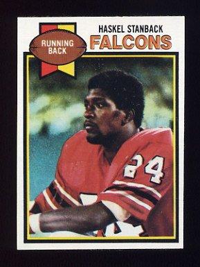 1979 Topps Football #237 Haskel Stanback - Atlanta Falcons
