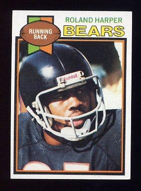 1979 Topps Football #227 Roland Harper - Chicago Bears