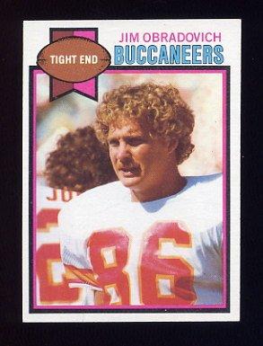 1979 Topps Football #223 Jim Obradovich - Tampa Bay Buccaneers