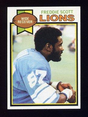 1979 Topps Football #178 Freddie Scott - Detroit Lions