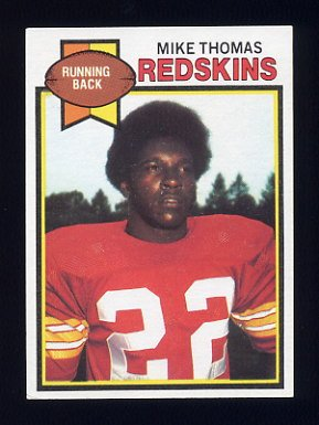 1979 Topps Football #175 Mike Thomas - Washington Redskins