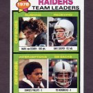 1979 Topps Football #169 Oakland Raiders TL / Ted Hendricks
