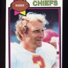 1979 Topps Football #142 Jan Stenerud - Kansas City Chiefs ExMt