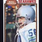 1979 Topps Football #138 Terry Beeson - Seattle Seahawks