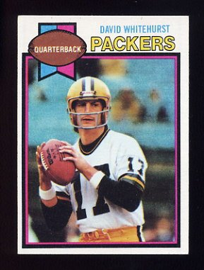 1979 Topps Football #137 David Whitehurst - Green Bay Packers