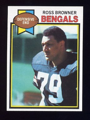 1979 Topps Football #135 Ross Browner RC - Cincinnati Bengals