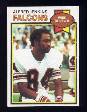 1979 Topps Football #127 Alfred Jenkins - Atlanta Falcons