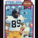 1979 Topps Football #124 Bennie Cunningham - Pittsburgh Steelers