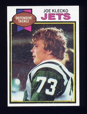 1979 Topps Football #101 Joe Klecko - New York Jets NM-M