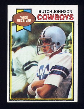1979 Topps Football #086 Butch Johnson - Dallas Cowboys