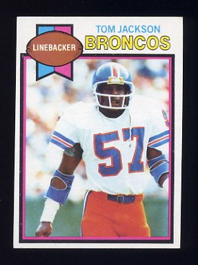 1979 Topps Football #083 Tom Jackson - Denver Broncos