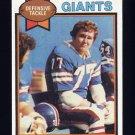 1979 Topps Football #081 Troy Archer - New York Giants