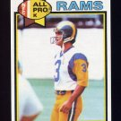 1979 Topps Football #080 Frank Corral - Los Angeles Rams