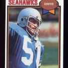 1979 Topps Football #078 John Yarno - Seattle Seahawks