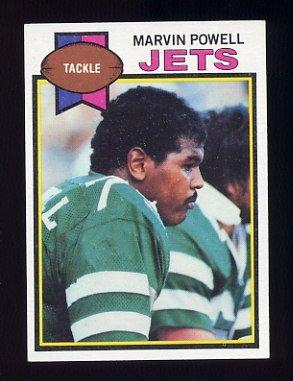 1979 Topps Football #063 Marvin Powell - New York Jets
