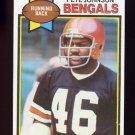 1979 Topps Football #034 Pete Johnson - Cincinnati Bengals