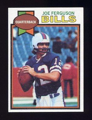 1979 Topps Football #023 Joe Ferguson - Buffalo Bills