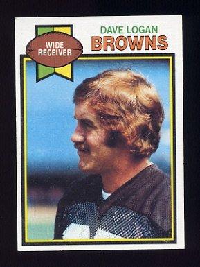 1979 Topps Football #013 Dave Logan - Cleveland Browns
