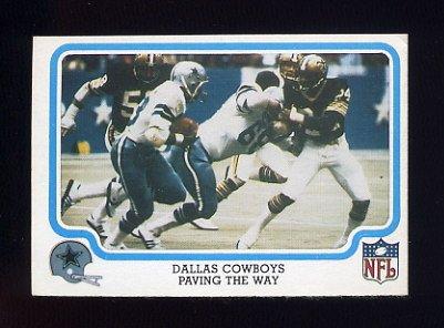 1979 Fleer Team Action Football #14 Dallas Cowboys / Tony Dorsett