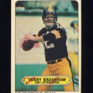 1983 Topps Sticker Inserts Football #05 Terry Bradshaw - Pittsburgh Steelers