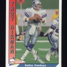 1991 Pacific Football #093 Troy Aikman - Dallas Cowboys