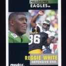 1991 Pinnacle Football #190 Reggie White - Philadelphia Eagles
