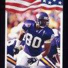 1992 All World Football #231 Cris Carter - Minnesota Vikings