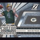 2005 Zenith Football Canton Bound Silver Insert #CB1 Brett Favre - Green Bay Packers