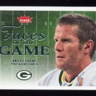 2006 Fleer Football Faces of the Game #FGBF Brett Favre - Green Bay Packers