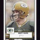 2006 Topps Heritage Football SP #314 Brett Favre - Green Bay Packers