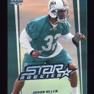 2006 Upper Deck Football #249 Jason Allen RC - Miami Dolphins