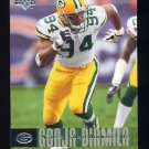 2006 Upper Deck Football #075 Kabeer Gbaja-Biamila - Green Bay Packers