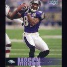 2006 Upper Deck Football #014 Derrick Mason - Baltimore Ravens
