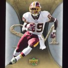 2007 Artifacts Football #100 Santana Moss - Washington Redskins