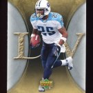 2007 Artifacts Football #096 LenDale White - Tennessee Titans
