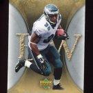 2007 Artifacts Football #077 Brian Westbrook - Philadelphia Eagles