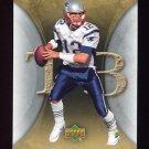 2007 Artifacts Football #060 Tom Brady - New England Patriots